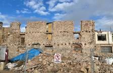 Montblanc restaurará el tramo pendiente de muralla de Sant Francesc con la tasa del 1,5% cultural