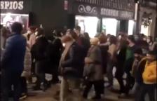 Críticas por aglomeraciones en una charanga montada por la concejalía de Comerç de Tarragona