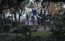 El Campament dels Reis d'Orient pren forma al parc Sant Jordi