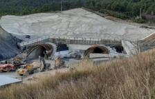 El túnel del Coll de Lilla de l'A-27, pendent de 200 metres d'excavació per completar la unió dels dos costats