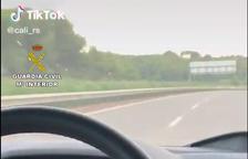 Investigat un veí de Calafell per circular a  250 km/h per la C-32 i penjar-ho a TikTok