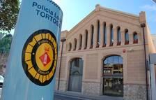 Imatge de la comissaria de la Policia Local de Tortosa.