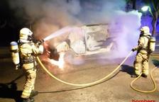 Incendi d'una furgoneta al Morell
