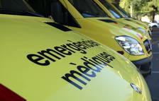 Una noia resulta ferida després de topar contra una paret amb el cotxe a Santa Bàrbara