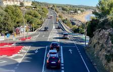 El Ayuntamiento de Tarragona pide al Estado reducir la velocidad a l'N-340 en Cala Romana