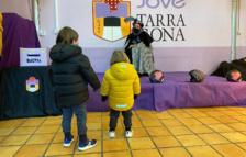 La Colla Jove Xiquets de Tarragona acull un patge reial