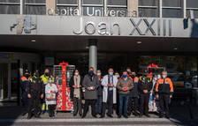 La Pobla de Mafumet i Dow porten regals als nens hospitalitzats al Joan XXIII