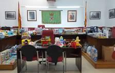 Creixell recull una vuitantena de joguines solidàries per a les famílies vulnerables