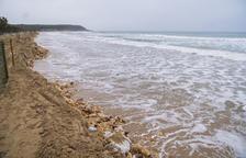 Tarragona es torna a quedar sense platges a causa del fort temporal