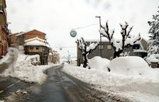 Disset escoles de Tarragona no obriran aquest dilluns a causa de la neu