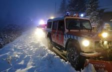 Evacuan a seis personas atrapadas en un alojamiento rural de Rojals, en Montblanc