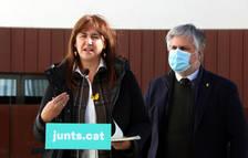 Borràs emplaça Illa a opinar sobre la celebració del 14-F: «Encara és el ministre de Sanitat»