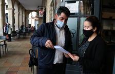 L'alcalde i un regidor de Riudoms reben el vaccí de la covid-19 aprofitant la vacunació a la residència d'avis
