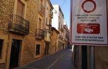 El Vendrell pone en marcha las cámaras de control de acceso de vehículos en la isla de peatones