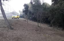 Treballs de prevenció d'incendis realitzats aquest desembre pel Grup Especial de Prevenció d'Incendis.