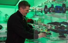 Rafael López y su colección de Lego
