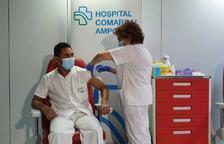 La vacuna Moderna es comença a administrar a la demarcació de Tarragona