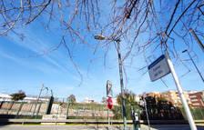Imagen de la calle Nin donde se construirá un nuevo paso subterráneo.