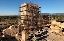 La rehabilitación del castillo de Vallmoll coge forma