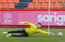 José Aurelio Suárez completa el seu primer entrenament amb el Nàstic
