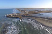El Gobierno pide la declaración de emergencia para reparar los daños en el Delta del Ebro