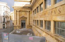 La primera fase de les obres al MNAT va a càrrec del ministeri de Cultura i han costat 3,5 milions.