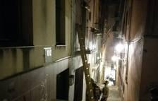 Cede un techo de una casa a Tortosa después de declararse un incendio