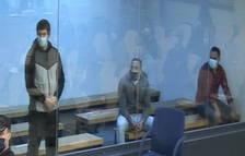 Los acusados por el 17-A aprovechan la última palabra para insistir en que no sabían qué pasaría
