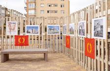 La Plaça de les Escoles Velles acoge la exposición 'Re-descobrint Centcelles'