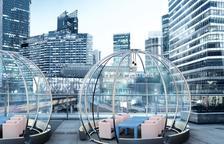 Una empresa de Móra la Nova crea iglús per fer 'bombolles' anticovid a la restauració