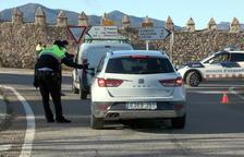 Poca mobilitat de vehicles a la zona del Paratge Natural de Poblet