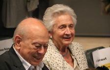 El expresidente del Govern Jordi Pujol y su mujer, Marta Ferrusola, en una imagen de archivo.