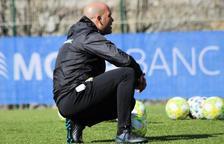 Gabri, nou entrenador de l'Olot