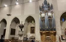 L'orgue de Valls supera la barrera dels 500 padrins a pocs dies de la seva estrena