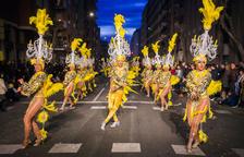 El Carnaval canvia els carrers pels aparadors comercials de la ciutat