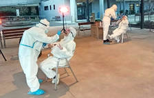 Disminueix el nombre de contagiats i el risc de rebrot baixa de 300 punts a Tarragona i l'Ebre