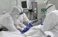 Baixa la pressió hospitalària a la demarcació de Tarragona però suma 16 defuncions