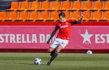 Rueda ultima su retorno y apunta al once que el Nàstic mostrará en Andorra