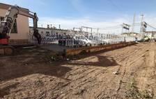 Empiezan las obras de cierre en las estaciones de tren de Sant Vicenç de Calders y Segur