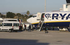 Ryanair deja sin ninguna ruta el invierno 2021-2022 en el Aeropuerto de Reus y vende 12 este verano
