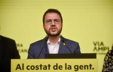 Aragonès reclama a la UE que impulse «una solución democrática» al conflicto catalán