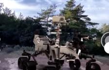 El 'rover' Perseverance de la Nasa aterra a Prades