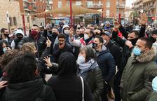 Molta tensió a Torredembarra en la concentració en suport als MENA agredits dijous