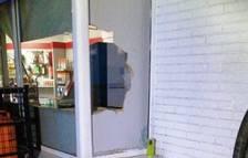 L'estat en que es trobava la gasolinera quan van arribar els agents