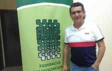 Imatge d'Alfonso López, reelegit president de la Federació d'Associacions de Veïns de Tarragona.