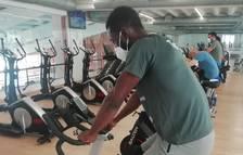Las bicicletas del Patronato Municipal de Deportes de Tarragona permiten hacer clases virtuales