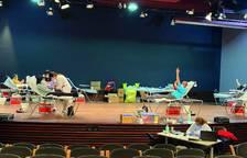 El personal de la Diputació de Tarragona participa en un maratón de donación de sangre