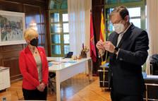 Pere Lluís Huguet toma posesión como nuevo representante de Cs en la Diputació de Tarragona