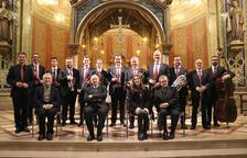 Concierto de compositores religiosos para promocionar la sardana como Patrimonio de la Humanidad