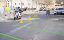 Eliminat un carril de circulació al carrer Escultor Verderol de Tarragona